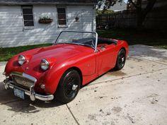 1960 Austin-Healey Sprite - VICTORIA BRITISH LTD. http://www.britishsportscarlife.com/blog/2014/10/9/wayne-bussey-his-60-sprite http://www.victoriabritish.com