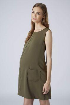 Photo 2 of MATERNITY Woven Pocket Dress