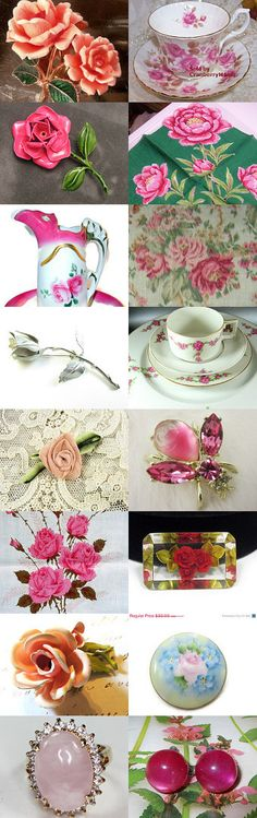 Everything's Coming Up Roses by STOLA Saluki Rescue on Etsy--Pinned with TreasuryPin.com