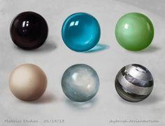 Material Study 01 by skybrush.deviantart.com on @deviantART