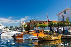 Visual Norway: Y is for Yacht Parade in Grimstad
