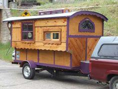 Made on a purple trailer