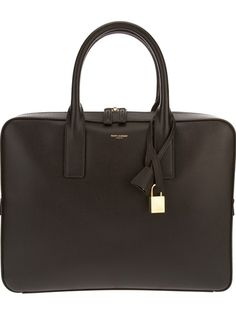 SAINT LAURENT - Classic Duffle Briefcase bag 6