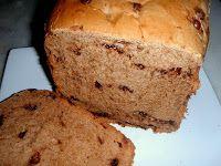 Pão de Leite Condensado com Gotas de Chocolate - Máquina de Pão