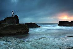 Fisherman @ Forresters Beach