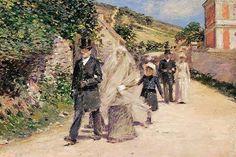 Theodore Robinson ~ The Wedding March