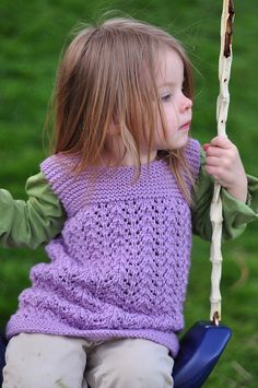 Free pattern from Ravelry: February Toddler Tunic pattern by Heather Ramsay Knitting For Kids, Baby Knitting Patterns, Crochet For Kids, Baby Patterns, Free Knitting, Crochet Coat, Crochet Bebe, Crochet Clothes, Little Girls