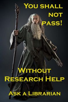 Stop by the Library Assistance desk for help with your research!