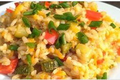 Особенный рис с овощами: секрет приготовления мега вкусного риса