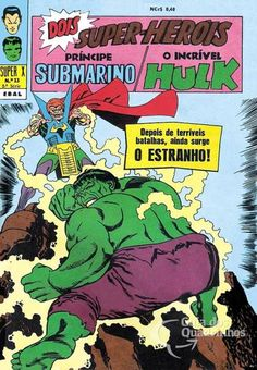 Príncipe Submarino e O Incrível Hulk (Super X) n° 13 - Ebal
