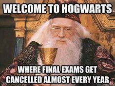 Hogwarts. Dumbledore. Harry Potter.