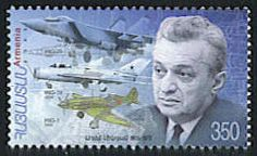 Artem Ivanovich Mikoyan - Aircraft designer, in partnership with Mikhail Iosifovich Gurevich, he designed many of the famous MiG military aircraft.