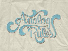 Hand lettered t-shirt thing (mockup).