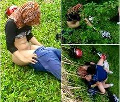 HEBOH!! Gadis Berjilbab Ini Unggah Foto Zinah Di Semak-Semak Kebun Sawit - Berita Hangat