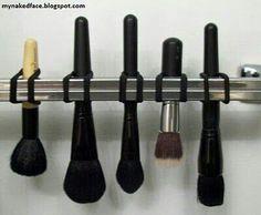 Makeup brush drying