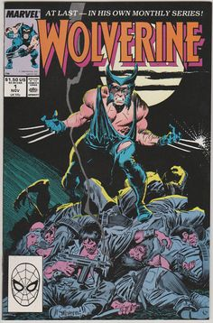 Wolverine V2. 1.  NM Nov 1988 Marvel Comics by RubbersuitStudios, $70.00 #wolverine #comicbooks