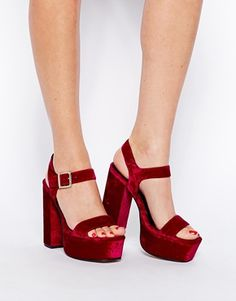 ASOS+HEAD+STRONG+Heeled+Sandals
