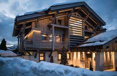 Chalet à Megève, Haute-Savoie #vacances #montagne #ski