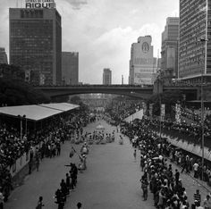 Anhangabaú, 1970.