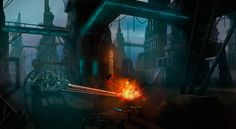 Create a Science Fiction Environment With Photoshop, Illustration, Paintings & Airbrushing, Photoshop, Sci-Fi, Tutorial