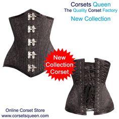 New Collection - Fresh New Dress, Nailah Waist Trainer Steel Boned Corset, Dress, Plus Size Corset