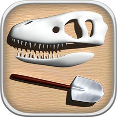 Dino Digger by TegTap, LLC. Dig up dinosaur bones, build them into interactive 3D skeletons, and even bring them to life! Dig up and interact with 18 different dinosaurs, learning facts about them along the way. This app is great for engaging children with nonfiction material while also allowing them to play and explore. $1.99 on iTunes and Play Store. 7/20/16