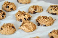 Make these healthy and delicious Gluten-Free Chick Pea Peanut Butter Cookies via http://lifeovereasy.com/ #recipe #sweet #dessert