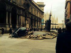 Sapessi com'è strano un incidente con il sottomarino a Milano