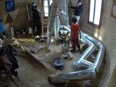 Taller de estufa rocket en un domo de superadobe …