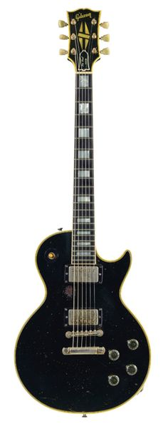 1958 Gibson Les Paul Custom. The stuff dreams are made of.