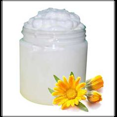Natural Face Cream Recipe is a Natures Garden free natural recipe. This natural facial cream recipe uses calendula, natural oils, and cocoa butter.