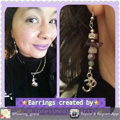 """Repost from my loyal Customer @flowing_grace thanks for all the support goddess  (""""every piece that I have had the pleasure in purchasing from a Goddess herself.... @lionesshealingarts THANK YOU for expressing your love in such beautiful ways that I can enjoy  #supportlocalbusiness #handmade #madewithlove #healingcrystals #consciouscreations #divine #flow #creativity #beautifulheart #beautifulsoul We can use our power to promote what we LOVE... and to decide, where we w"""