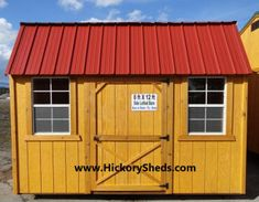 Old Hickory Sheds Lofted Barn