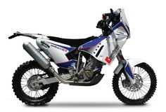 BMW G 450 RR Dakar Rally Bike