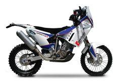 BMW G 450 RR Dakar Rally Bike