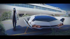 32 Best Ideas For Cars Design Portfolio Concept Art Futuristic Technology, Futuristic Design, Futuristic Architecture, Concept Ships, Concept Cars, Design Transport, Hover Car, Future Transportation, Spaceship Art