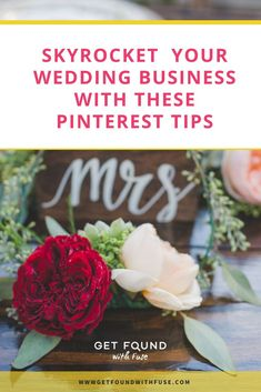 SKYROCKET YOUR WEDDING BUSINESS WITH THESE PINTEREST TIPS #pinterest #weddingplanning #weddingbusiness #eventplanning #weddingplanningmarketing #marketing #creativepreneur Wedding Photography Tips, Wedding Photography Inspiration, Photography Business, Event Planning, Wedding Planning, Pinterest For Business, Creative Business, Business Ideas, Pinterest Marketing