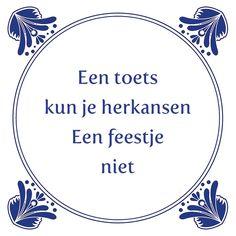 Tegeltjeswijsheid.nl - een uniek presentje - Een toets kun je herkansen