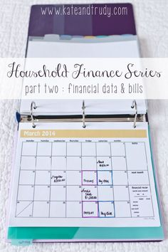 Welcome to Part Two of the Household Finance Binder Series. If you missed Part One ~ Create Your Binder, make sure to catch up first before continuing on. Today we're entering your financial data and establishing the bill payment process. Next week we'll focus on budgeting. Stick around by following on BlogLovin' – I promise … Budget, Budgeting Tips, #budget