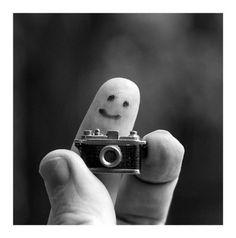finger art | Tumblr  SAY CHEESE :)