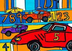 Speedy Speedy 1 2 3 Canvas Wall Art
