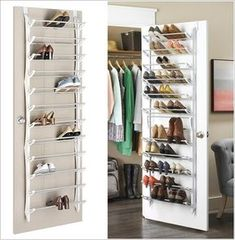 15 Clever Narrow and Vertical Shoe Storage Ideas - Schuh aufbewahrung