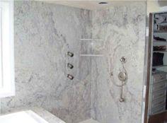 Large Slabs Tiles Shower Walls   Bing Images Condo Bathroom, Bathroom  Layout, Master Bathrooms