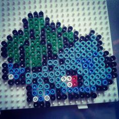 #bulbasaur #pokemon #nintendo #perlerart #keychain #hama #pyssla #perler #art