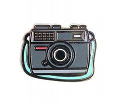 Enamel Camera Pin