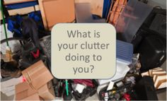 4 surprising things about clutter | Great reasons to #declutter and get #organized now - click through to read the post