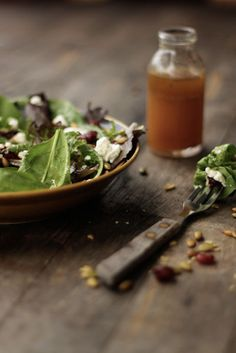 food + words | recipes. stories. life, from scratch. » autumn salad with apple cider vinaigrette.