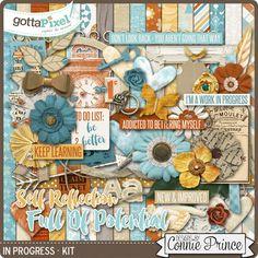 Designer Spotlight & Daily Download 8/18/16 - Gotta Pixel :: In Progress - Kit by Connie Prince
