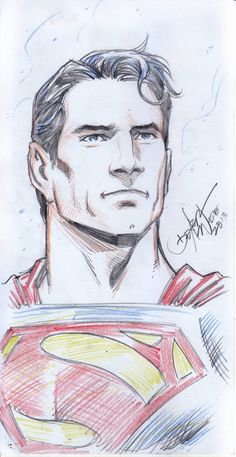 superman sketch 3 by dexterwee on DeviantArt Superman Drawing, Superman Artwork, Drawing Superheroes, Marvel Drawings, Comic Drawing, Dc Comics Art, Batman Comics, Cartoon Sketches, Drawing Sketches