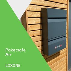 #Loxone #Paketsafe #Air Box, Mailbox, Products, Snare Drum